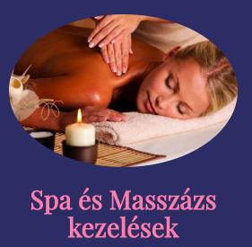 spa és masszázs kezelés